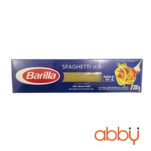 Mì Spaghetti Barilla số 5 200g