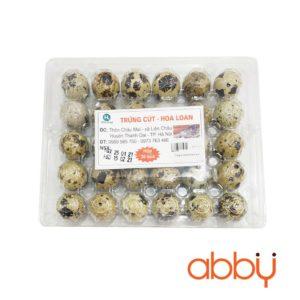 Trứng cút Hoa Lan (hộp 30 quả)