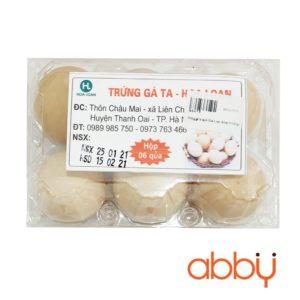 Trứng gà ta sạch Hoa Loan (Khay 6 trứng)
