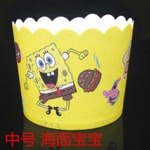 Cup giấy cứng 6x5cm mẫu hoạt hình (48 - 50 chiếc)