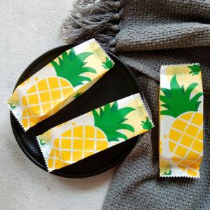 Túi đựng bánh dứa hình quả dứa 13x4.5cm (48 - 50 chiếc)