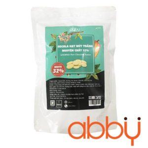 Socola trắng nguyên chất 32% Singapore 500g