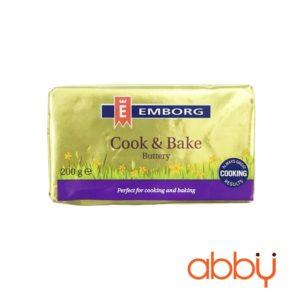 Bơ nhạt Cook & Bake Emborg 200g
