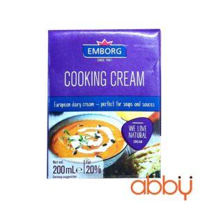 Kem tươi Cooking Emborg 200ml