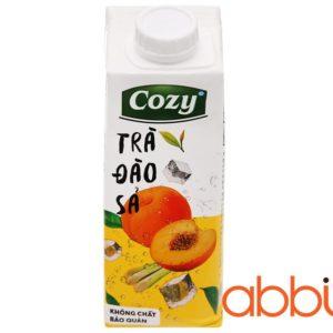 Trà đào sả Cozy 225ml