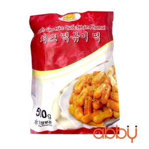 Bánh gạo nhân phô mai Hàn Quốc MIR 500g