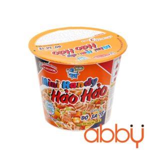 Mì ly mini Hảo Hảo bò sa tế 53g