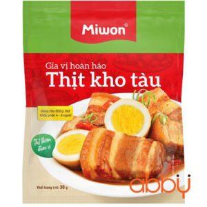 Gia Vị Hoàn Hảo Thịt Kho Tàu Miwon 30g