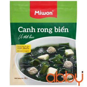 Gia Vị Canh Rong Biển Vị Thịt Heo Miwon 20g