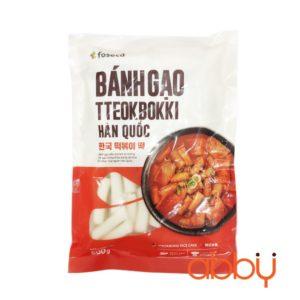 Bánh gạo Tokbokki Foseca 500g