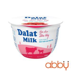 Sữa chua vị dâu tây Dalatmilk 100g