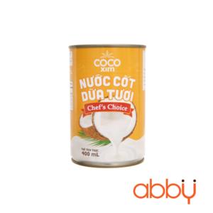 Nước cốt dừa Cocoxim vàng 400ml (mặn)