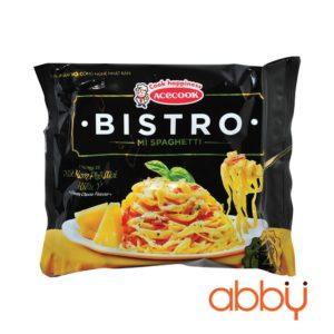 Mì spaghetti Bistro hương vị xốt kem phô mai kiểu Ý gói 100g