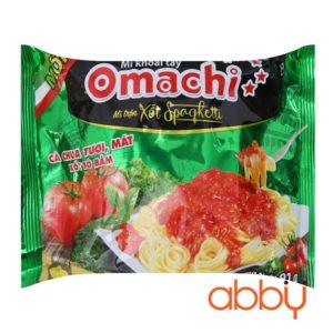 Mì trộn Omachi xốt Spaghetti gói 91g