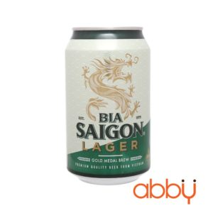 Bia Saigon Lager lon 330ml