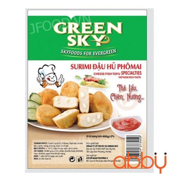 Đậu hũ phô mai Green Sky 400g