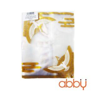 Túi đựng bánh trung thu 125-150g mẫu Hạc trắng (100 túi)