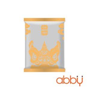 Túi đựng bánh trung thu 125-150g mẫu Đầu lân (10 túi)